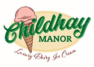 Childhay Manor Luxury Dairy Ice Cream Logo